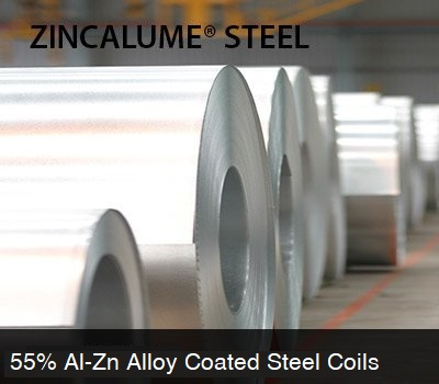 ZINCALUME® STEEL - Al-Zn Alloy Coated Steel Coils